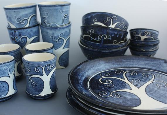 Tree of Life Dinner Set & pottery \u2013 Mercedes Rodgers